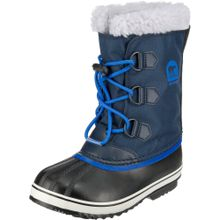 SOREL Winterstiefel 'YOOT PAC' blau / schwarz / wollweiß