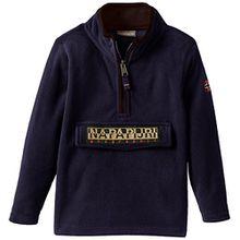 Napapijri Jungen Sweatshirt K LAMI A, Gr. 140 (Herstellergröße: 10), Blau (BLU MARINE 176)