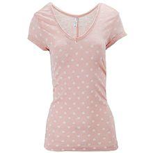Urban Surface Damen T-Shirt Shirt Top Herz + Liebe Herzchen Gr 36 S Rosa Herz