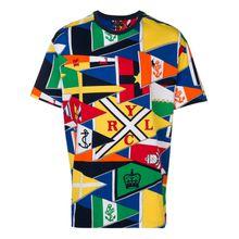 Polo Ralph Lauren T-Shirt mit grafischem Print - Gelb