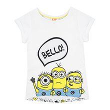 Minions Ich - Einfach unverbesserlich Mädchen Despicable Me Minions T-Shirt Kurzarm 116