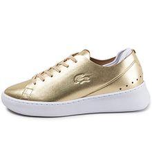 Lacoste Damen Sneaker GOLD EYYLA 7-34CAW00112M2 Schuhe , Size:38 EU