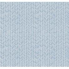 "Mustertapete ""abstrakte Linien"" 10,08 m x 0,48 m blau"