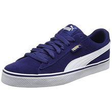 Puma Unisex-Erwachsene 1948 VULC Sneaker, Blau (Blue Depths-White), 36 EU