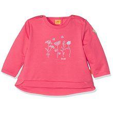 Steiff Baby-Mädchen Sweatshirt 1/1 Arm, Rot (Paradise Pink 2024), 62