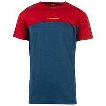 La Sportiva - Crunch T-Shirt - T-Shirt Gr L;M;S;XL;XXL orange/rot;türkis/blau;blau/rot;blau/grün;grau/schwarz