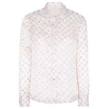 ETERNA Bluse rosé / weiß