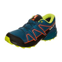 SALOMON 'Speedcross CSWP' Trail Laufschuh navy / gelb / hellrot