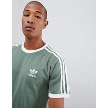 adidas Originals - California - Grünes T-Shirt, DV2553 - Grün