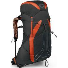 Osprey Wanderrucksack 'Exos 38' dunkelorange / schwarz