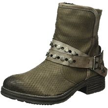 Remonte Damen D1776 Biker Boots, Grau (Bisam/Cigar/25), 38 EU