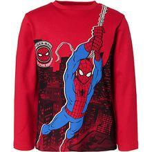 Spider-Man Langarmshirt  rot Jungen Kleinkinder