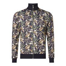 Trainingsjacke mit Allover-Muster Modell 'Fleurs-De-Lis'