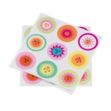 Vitra - Sticker La Fonda Sun, multicolour