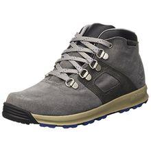Timberland Unisex-Kinder GT Scramble WP Leather Mi Kurzschaft Stiefel, Grau (Graphite Silk Suede), 37 EU