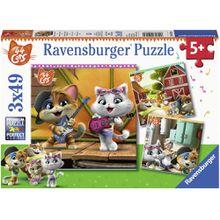 Ravensburger 3 X 49 Teile 44 Cats: Willkommen bei den Buffycats