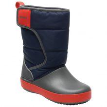 Crocs - Kid's LodgePoint Snow Boot - Winterschuhe Gr C11;C12;C13;C9;J1;J2;J3;J6 schwarz;blau