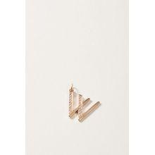 Sophie Keegan Buchstaben-Anhänger 'Letter W' mit Diamanten 18 Karat Roségold
