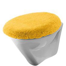 Erwin Müller WC-Deckelbezug gelb Größe 47x50 cm