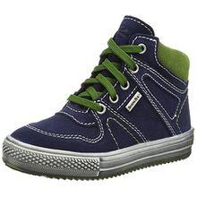 Richter Kinderschuhe Omero, Jungen Hohe Sneakers, Blau (Atlantic/Cactus 7201), 30 EU