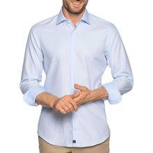 Strellson Hemd Slim Fit in blau für Herren