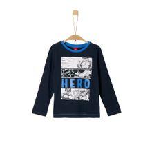 S.Oliver RED LABEL Shirt nachtblau / mischfarben