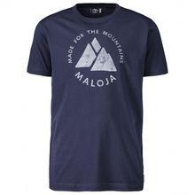 Maloja - NeirM. - T-Shirt Gr L;M;S;XL;XXL blau/schwarz;türkis/oliv;weiß/grau;rot/rosa;grau