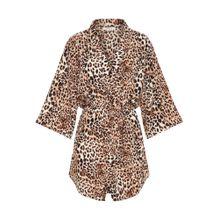 PIECES Kimono beige / braun / weiß