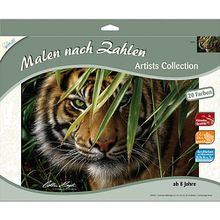 Malen nach Zahlen Artists Collection Tiger 40 x 30 cm