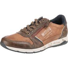 MUSTANG Sneakers Low braun Herren