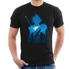 Final Fantasy Battle Silhouette Men's T-Shirt