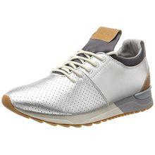 Marc O'Polo Damen Sneaker 70713893502102, Silber (Silver), 39 EU