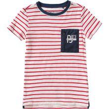 Pepe Jeans T-Shirt SANDRO für Jungen rot / weiß