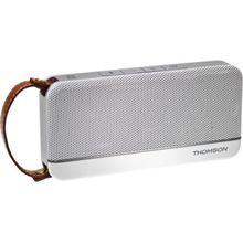 Thomson Bluetooth-Lautsprecher WS02 - Retro White weiß