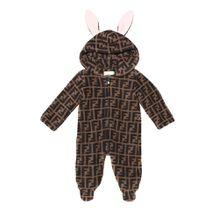 Baby Strampler aus Fleece