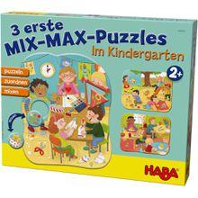 HABA 3 erste Mix-Max-Puzzles – Im Kindergarten
