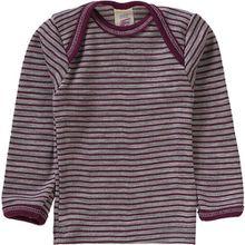 Baby Unterhemd  Wolle/Seide lila Mädchen Baby