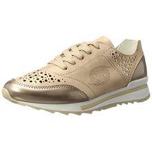 Dockers by Gerli Damen 40CR201-686929 Sneakers, Gold (Gold/Multi 929), 38 EU