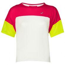 Asics - Women's Style Top - Laufshirt Gr L;M;S;XS lila/rot;weiß/rosa