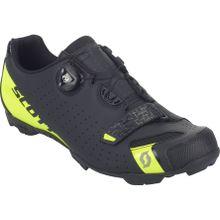 Scott - Mtb Comp Boa Herren Mountainbikeschuh (schwarz/gelb) - EU 44 - US 10