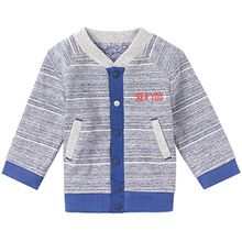Noppies Baby-Jungen Strickjacke B Cardigan Jrsy Rev Fords, Blau (Bright Blue C140), 50