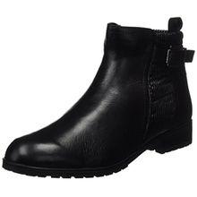 Caprice Damen 25350 Chelsea Boots, Schwarz (Black Nap.Comb), 40.5 EU