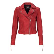 tigha Damen Lederjacken Ann-Sophie rot (racing red)