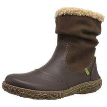 El Naturalista Damen N758 Soft Grain-Lux Suede Brown/Nido Schlupfstiefel, Braun (Brown N12), 38 EU