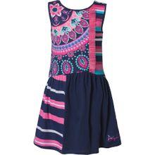 Desigual Kleid nachtblau / mischfarben