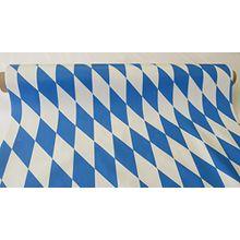 BIERTISCH FOLIE BAYERN TISCHDECKE 65cm / 30mtr Rolle