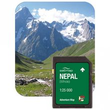 Satmap - Nepal Gesamt (ADV 1:25k) - SD-Karte Standard