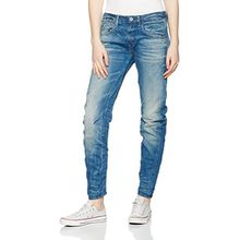 G-STAR Damen Boyfriend Jeanshose Arc 3D Low - cyclo stretch denim, Gr. W32/L34, Blau (lt aged 424)