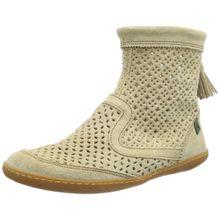 El Naturalista S.A N262 Lux Suede El Viajero, Damen Kurzschaft Stiefel, Grau (Piedra), 42 EU