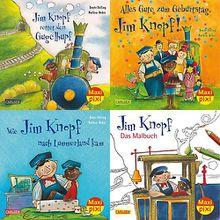 Buch - Maxi Pixi: Jim Knopf, 4 Hefte